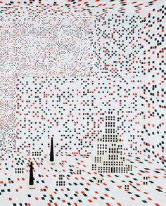 transcendental abstractionism holger lippmann / artist www / twit / fb Marcel Duchamp, Abstract Landscape, Lovers Art, Geometry, Art Decor, Workshop, Design Inspiration, Graphic Design, Collection