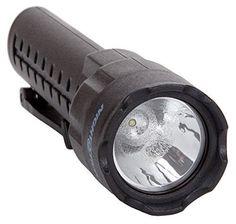 (4 Pack) Nightstick XPP-5420B 3 AA Intrinsically Safe Permissible Flashlight, Black