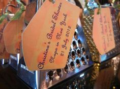 "Mini cheese grater favors that say ""Hope you had a 'grate' time!"" - next wine and cheese night?"