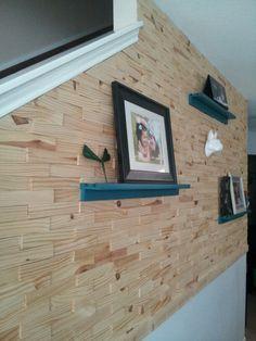 Wood shim wall