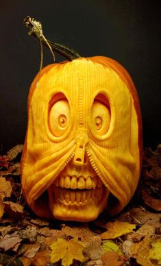 Pumpkin Art That Inspires Awe ... see more at Inventorspot.com