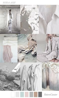 1000+ images about 2018/19 FW TRENDS on Pinterest | Fiber ... #FashionTrendsMoodboard