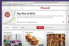 Top Pins from 2013!, via the Official Pinterest Blog