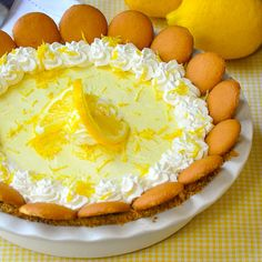 This is a lemon icebox pie just like Grandma used to make. The filling freezes to a silky, luscious, creamy texture with plenty of tart lemony flavor.