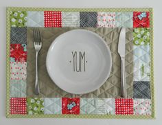 patchwork placemat | Flickr - Photo Sharing!