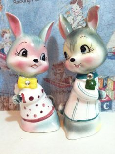 FREE SHIPPING Very RARE Vintage Antique Enesco by MoonFaces