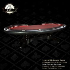 The Lumen HD is an amazing game and poker table that is truly the showpiece of any game room.  www.bbopokertables.com/the-lumen-hd-poker-table.html