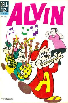Cover for Alvin series) Old Comic Books, Best Comic Books, Vintage Comic Books, Vintage Comics, Alvin And The Chipmunks, Favorite Cartoon Character, Old Comics, Classic Monsters, Magazines For Kids