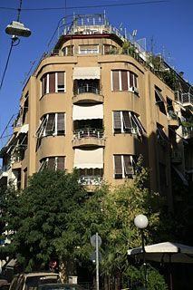 ΑΡΧΕΙΟ ΝΕΟΤΕΡΩΝ ΜΝΗΜΕΙΩΝ - Πολυκατοικία του Μεσοπολέμου Bauhaus, Kai, Memories, Mansions, Architecture, Street, House Styles, World, City