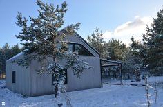 """dom """"stodoła"""" na skraju lasu - zdjęcie od Helena Michel Design - Domy - Styl Skandynawski - Helena Michel Design"""