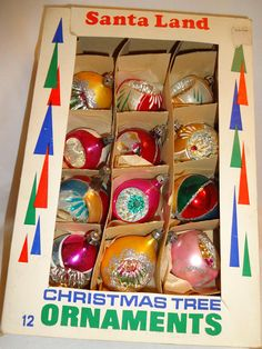 Christmas Ornaments Glass from Poland OH  6