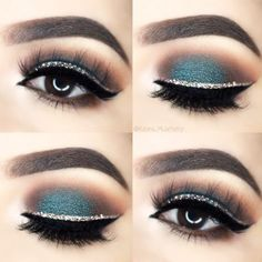 Gorgeous Makeup: Tips and Tricks With Eye Makeup and Eyeshadow – Makeup Design Ideas Best Winged Eyeliner, Eyeliner For Hooded Eyes, Perfect Eyeliner, Hooded Eye Makeup, How To Apply Eyeliner, Eye Makeup Tips, Smokey Eye Makeup, Beauty Makeup, Makeup Ideas