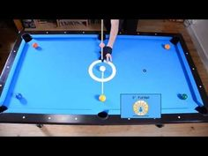 Cue Ball Position Control Drill - Angle Fraction Ball Aiming System - Pool & Billiard training - YouTube