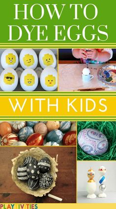 HOW TO DYE EASTER EGGS WITH KIDS! dye easter eggs with toddlers with kid friendly remedies! Natural, shaving cream, silk and more DIY ideas to have the most beautiful Easter eggs! Find the best dye easter egg ideas here! Easter Party Games, Easter Games For Kids, Fun Crafts For Kids, Craft Activities For Kids, Diy For Kids, Easter Ideas, Family Activities, Holiday Games, Holiday Fun