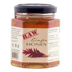 Raw Ginger Honey Raw Ginger, Ginger And Honey, Raw Honey, Wild Honey, Nutella, Desserts, Food, Tailgate Desserts, Deserts