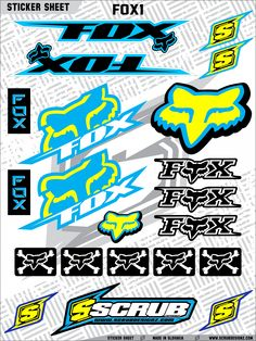 Available now!!! ScrubDesignz.com #motocross #graphics #decals