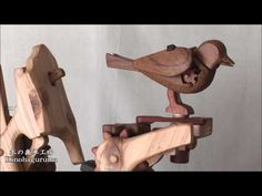 The Automata Blog: Automaton bird plays hide-and-seek with a caterpillar