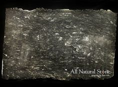 All Natural Stone - Phantom Black Granite Slab - kitchen countertops - san francisco - All Natural Stone