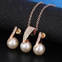 Imitation Pearl Gold Jewelry Sets Charm Jewelry Outfit Accessories From Touchy S. Imitation Pearl Gold Jewelry Sets Charm Jewelry Outfit Accessories From Touchy Style Pearl Jewelry, Gold Jewelry, Pearl Necklaces, Simple Jewelry, Fine Jewelry, Jewelry Necklaces, Pearl Set, Wedding Jewelry Sets, Fashion Bracelets