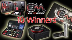 There will be 10 Lucky   1st prize(1 winner): 1 Coil Master DIY Kit V2 & 521tab &1 SEB   2rd prize(4 winners): 1 Coil Master Kbag & 521tab & 1 SEB 3rd prizes(5 winners):1 Coil Mater Mat & 1 SEB