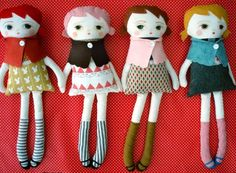 "black apple doll ideas...click on ""doll"" for instructions."