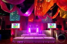 Mitzvah Inspire Clever Ceiling Decor Gruber Photography