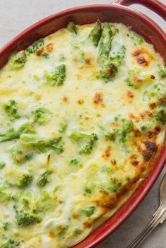 BROCCOLI CHEESE BAKE is a delicious creamy and cheesy broccoli casserole, the perfect side dish for any meal.