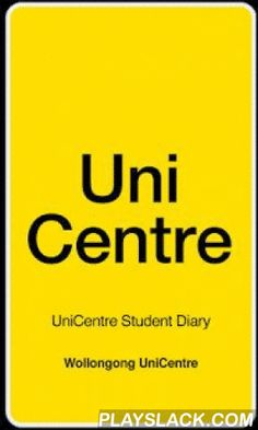 UniCentre Student Diary  Android App - playslack.com , The UniCentre Student Diary smartphone application, brought to you by UniCentre, provides students at the University of Wollongong with the ultimate way to interact with student life. The application provides the ability to build your student diary around your own specific interests. Connect with only the clubs and societies you choose, manage your lectures and deadlines, find out about the latest events and parties, and through your GPS…