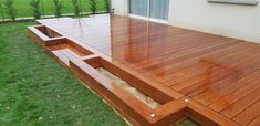 Cumaru Exotic wood deck Cumaru Decking, Exotic, Wood, Outdoor Decor, Home Decor, Gardens, Wooden Terrace, Decoration Home, Woodwind Instrument