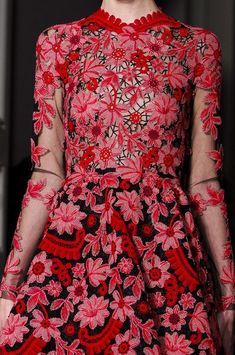 Valentino at Couture Spring 2013 (Details) | Valentino, Spring and Couture