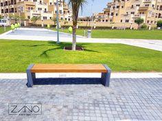 Trigono Bench by ZANO Street Furniture