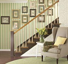 Composição de quadros na parede Ideias legais para fazer na sua casa 17