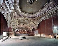 "Haunting and exquisite - French photographers Yves Marchand and Romain Meffre document the collapse of an American city in their book ""The Ruins of Detroit."""