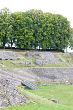 Roman Theatre, Autun, Burgundy, France