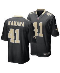 4401860520e Nike Little Boys Alvin Kamara New Orleans Saints Game Jersey - Black 4