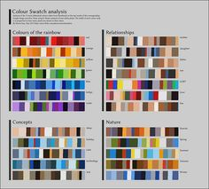 color analysis of google images in a clever #infographic