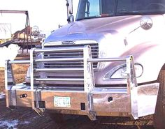 Look over all our semi truck bumper photos.