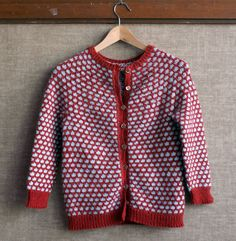 Cute cardigan #free knitting pattern