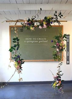 spring garland, rosehip flora by laurenhcraig, via Flickr | CHECK OUT MORE IDEAS AT WEDDINGPINS.NET |