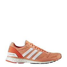06589d53 adidas Performance Womens Adizero Adios W Running Shoe Easy Orange  WhiteEnergy S 12 M US -