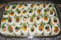 Gefüllte Eier (Rezept mit Bild) von scarlett05   Chefkoch.de