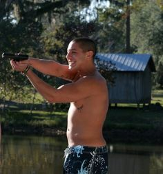 Theo Rossi in 'Kill Theory'.