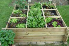 Jardiner en carré