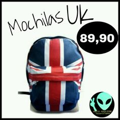 Veja nosso novo produto Mochila Uk! Se gostar, pode nos ajudar pinando-o em algum de seus painéis :)