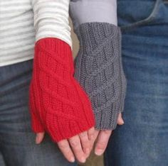 Driver's Mitts - Knitting Patterns and Crochet Patterns from KnitPicks.com