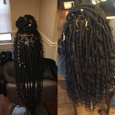 Braids With Bead Embellishments - 40 Best Big Box Braids Hairstyles Box Braids Hairstyles, My Hairstyle, Girl Hairstyles, Protective Hairstyles, Protective Styles, Curly Hair Styles, Natural Hair Styles, Big Box Braids, Pelo Afro