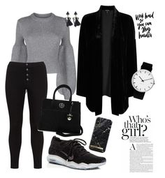 """""""Sporty Chic"""" by daisy-schilder ❤ liked on Polyvore featuring Alexander Wang, Lost Ink, Eileen Fisher, NIKE, Loungefly and Rosendahl"""