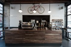 GAC : Manifold Architecture Studio counter space for the coffee shop