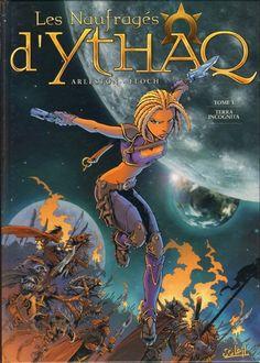 Les Naufragés d'Ythaq – – Terra incognita : Arleston & Floch Space Girl, Comic Books Art, Book Art, Manga, Graphic Art, Graphic Novels, Fantasy Art, Illustrations, Illustration