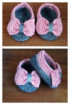 Mary jane baby booties free knitting pattern freepattern knitting baby slippers with bow free knitting pattern dt1010fo